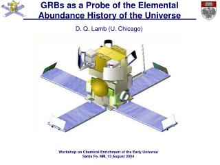 GRBs as a Probe of the Elemental Abundance History of the Universe
