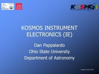 KOSMOS INSTRUMENT ELECTRONICS (IE)