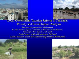 Local Government Taxation Reform in Tanzania: Poverty and Social Impact Analysis