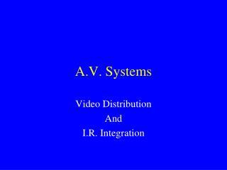 A.V. Systems