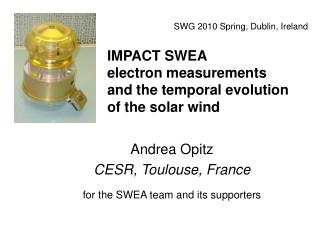 IMPACT SWEA electron measurements and the temporal evolution of the solar wind
