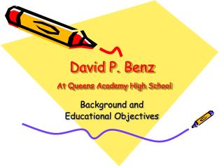 David P. Benz At Queens Academy High School