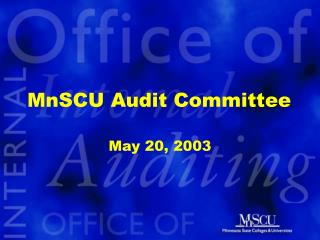 MnSCU Audit Committee