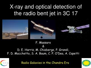 X-ray and optical detection of the radio bent jet in 3C 17