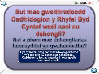 Sut  mae gweithredoedd Cadfridogion  y  Rhyfel Byd Cyntaf wedi cael eu dehongli ?