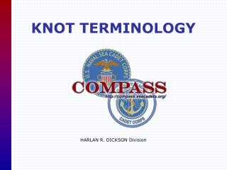KNOT TERMINOLOGY