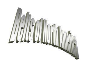 Belts of North America