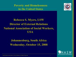 Poverty and Homelessness  in the United States