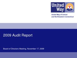 2009 Audit Report