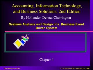Systems Analysis and Design of a  Business Event Driven System
