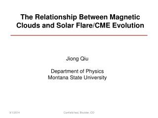 The Relationship Between Magnetic Clouds and Solar Flare/CME Evolution
