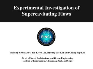 Experimental Investigation of Supercavitating Flows