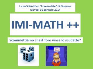 IMI-MATH ++