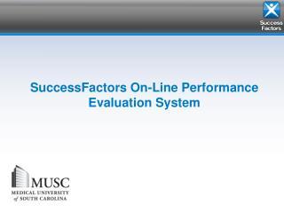 SuccessFactors On-Line Performance Evaluation System