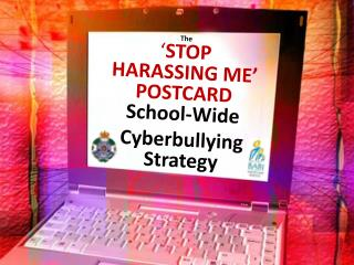 The ' STOP  HARASSING ME' POSTCARD School-Wide Cyberbullying Strategy
