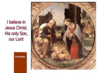 El fin del hombre:  dar gloria a Dios, conocerle y amarle
