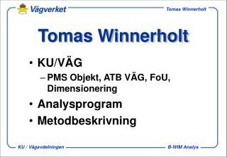 Tomas Winnerholt