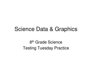 Science Data & Graphics