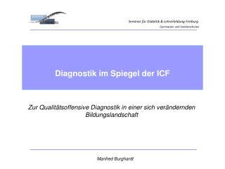 Seminar für Didaktik & Lehrerbildung Freiburg Gymnasien und Sonderschulen
