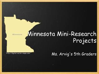 Minnesota Mini-Research Projects