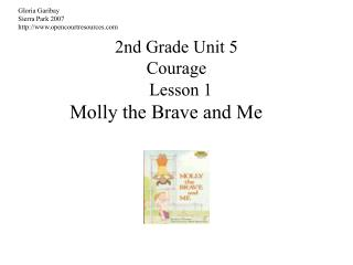 2nd Grade Unit 5 Courage