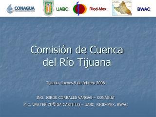 Comisión de Cuenca  del Río Tijuana