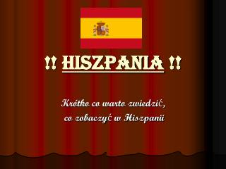 !!  Hiszpania  !!