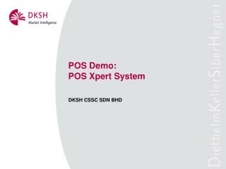 POS Demo: POS Xpert System