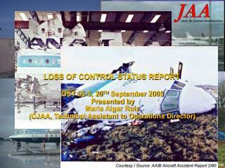 LOSS OF CONTROL STATUS REPORT