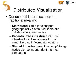 Distributed Visualization