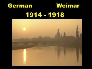 German             Weimar