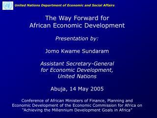 ECONOMIC TRENDS IN SUB-SAHARAN AFRICA