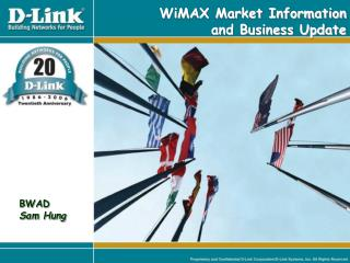 WiMAX Market Information  and Business Update