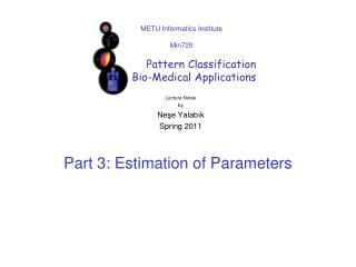 Part  3:  Estimation  of  Parameters