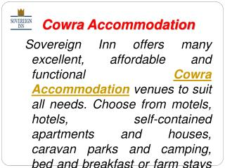 Luxury Accommodation and Motels Services in Australia