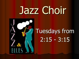 Jazz Choir