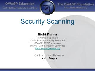Security Scanning