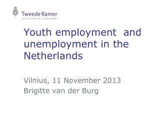 Youth employment  and unemployment in the Netherlands