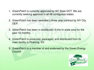 Greenpatch powerpoint