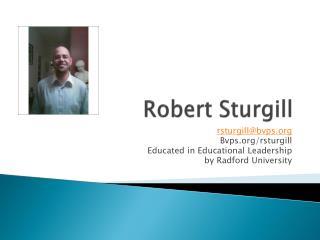 Robert  Sturgill