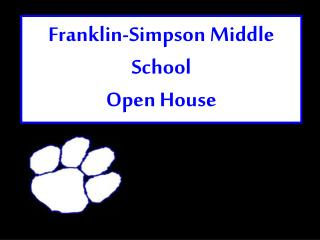 Franklin-Simpson Middle School Open House