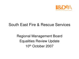 South East Fire & Rescue Services