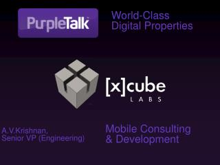 World-Class Digital Properties