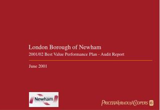 London Borough of Newham 2001/02 Best Value Performance Plan - Audit Report