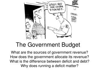 The Government Budget