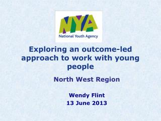 Exploring an outcome-led approach to work with young people