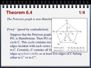 Theorem 6.4       1/4