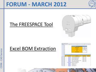 FORUM - MARCH 2012