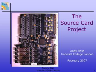 The Source Card Project