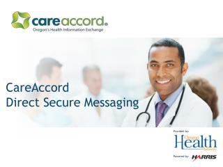 CareAccord Direct Secure Messaging